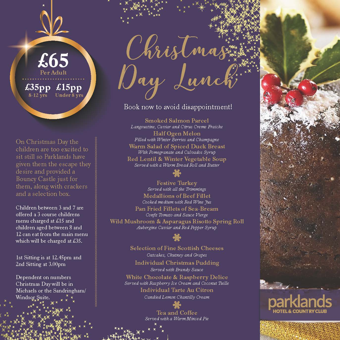 christmas day lunch 2018 oldham
